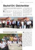 Bauhof Eggendorf: Gleichenfeier Seite 6 - Gemeinde Eggendorf - Page 6