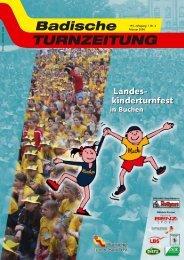 Landes- kinderturnfest Landes- kinderturnfest - Badischer Turner Bund