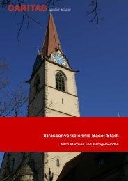 Strassenverzeichnis 2010.02.16 - Caritas beider Basel