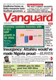24052021 - Insurgency: Attahiru would've made Nigeria proud —BURATAI