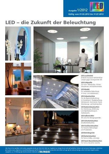 LED – die Zukunft der Beleuchtung