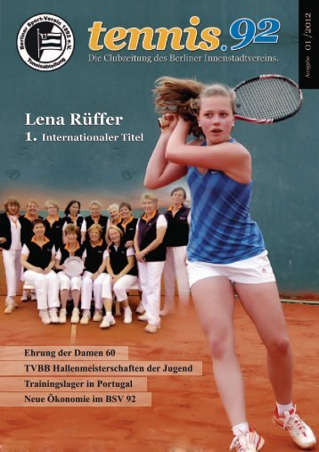 Lena Rüffer - Berliner Sport-Verein 1892 eV - Tennisabteilung