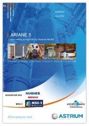 Flight 207: Ariane 5 ECA/Echostar-17 - Astrium - EADS