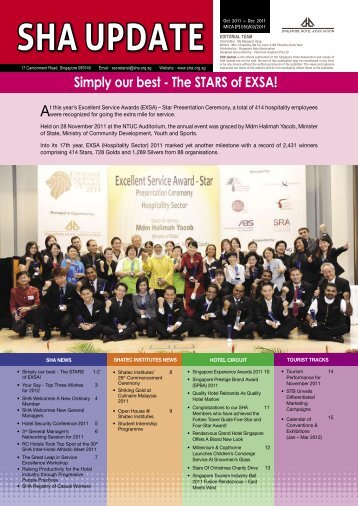 Simply our best - The STARS of EXSA! - Singapore Hotel Association