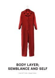 Body Layer; Semblance and Self