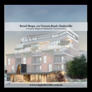 Commercial shops brochure - 210 Victoria Rd, Gladesville