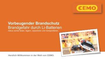 Vorbeugender Brandschutz | Max Urech AG