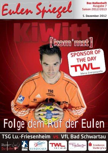 Nummer 7 - TSG Lu.-Friesenheim vs. VfL Bad - Die Eulen