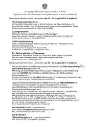 Vereinigung der fachmännischen Laienrichter Österreichs Mitglied ...
