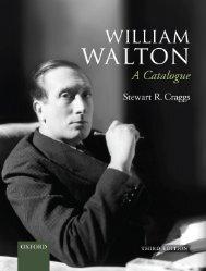 William Walton Catalogue