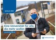 Jahrbuch der FernUniversität 2020