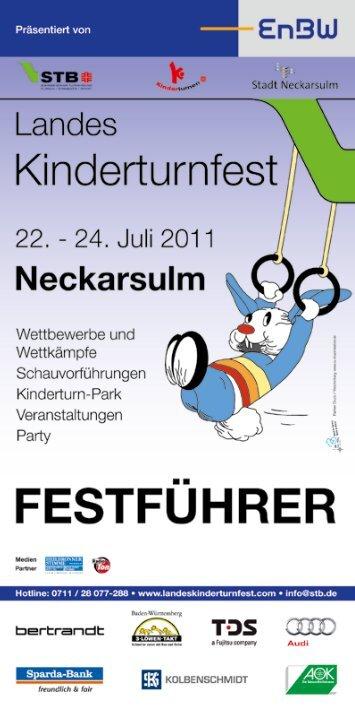 Alles neu! Besuchen Sie uns unter - Landeskinderturnfest 2011