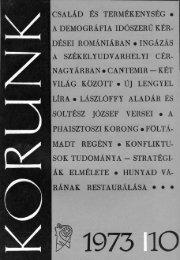 Bágyuj Lajos: Vajdahunyad várának restaurálása (1965 ... - Korunk