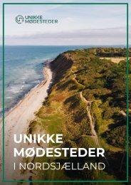 Unikke Moedesteder - Præsentation 16 moedesteder i Nordsjælland