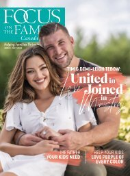Focus on the Family Magazine - June/July 2021