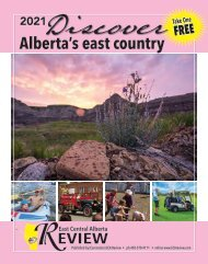 ECA Review: Discover Alberta's East Country - 2021