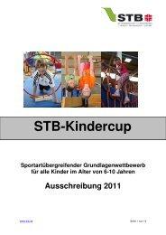 STB-Kindercup Altersgruppe - Schwäbischer Turnerbund