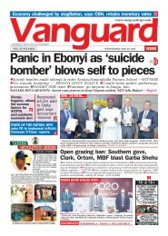26052021 - Panic in Ebonyi as 'suicide bomber' blows self to pieces