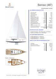 Sense (46') - Graf Yachting