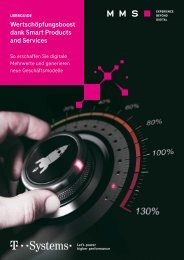 Wertschöpfungsboost dank Smart Products and Services