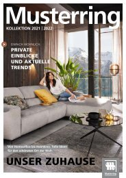 Musterring Katalog 2021|2022