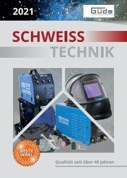 Güde Schweisstechnik Katalog 2021