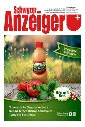 Schwyzer Anzeiger – Woche 21 – 28. Mai 2021