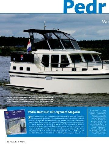 Leistung - Pedro Boat