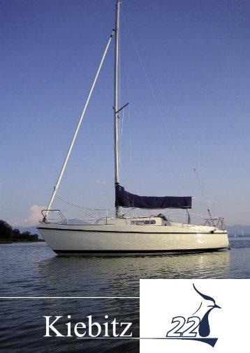 Prospektblatt - Yacht und Technik Seebruck am Chiemsee Bayern