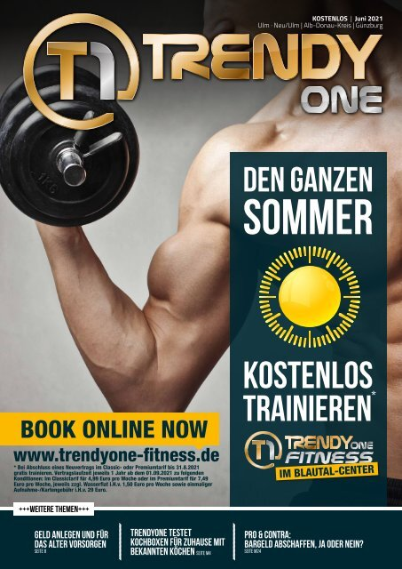 TRENDYone   Das Magazin – Ulm – Juni 2021