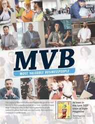 Most Valuabale Businesspeople Stand Alone-June 2021