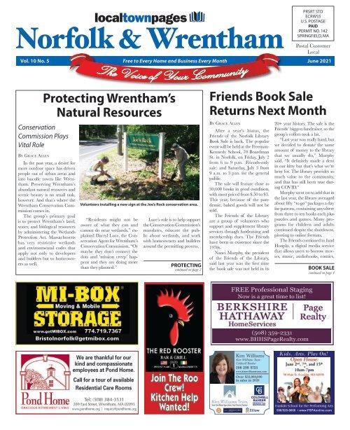 Norfolk & Wrentham June Issue