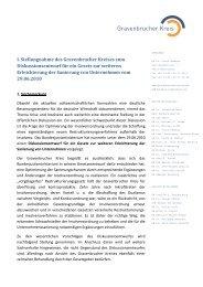 GK Stellungnahme zum ESUG 030810 - Gravenbrucher Kreis