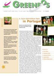 Verkauf Reparaturen Ausstellung Service Der ... - Golf Club Bubikon