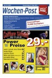 Wochen-Post   KW 21   27. Mai 2021