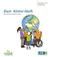Dein Klima-Heft in einfacher Sprache