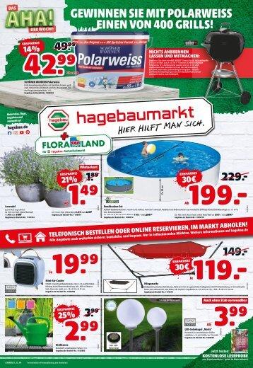 Hagebaumarkt + Floraland | KW 21