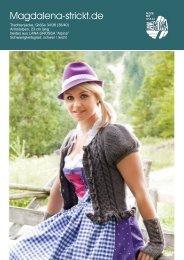Anleitung als PDF herunterladen - Magdalena-Strickt