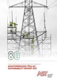 AUGSTSPRIEGUMA TĪKLS AS Sustainability Report 2019