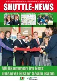 Willkommen im Netz unserer Elster Saale Bahn - Erfurter Bahn GmbH