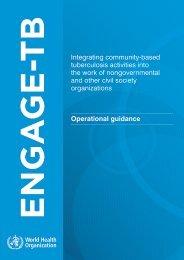 ENGAGE-TB: Operational Guidance - World Health Organization