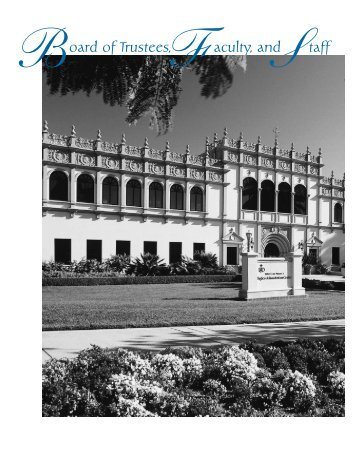 faculty emeriti - University of San Diego