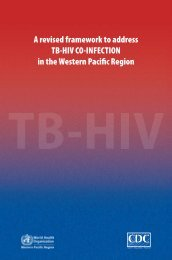 A revised framework to address TB-HIV CO-INFECTION in the ...