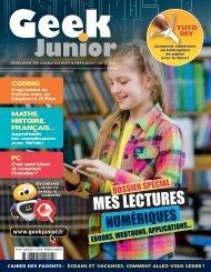 Geek Junior N°13 - juin 2021 - extrait