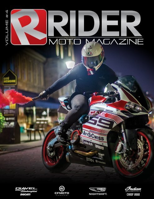 Rider Magazine | Vol.4 | Été 2021