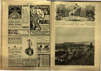 Vasárnapi Ujság 61. évf. 8. sz. (1914. február 22.) - EPA