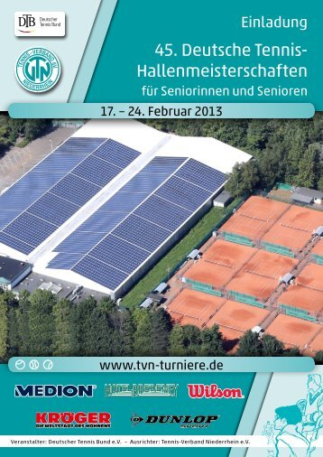 45. Deutsche Tennis- Hallenmeisterschaften
