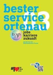 Mittelbadische Presse - Bester Service Ortenau: Jobs, Karriere, Zukunft