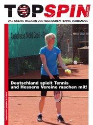 Topspin 3/2012 - Tennisbezirk Mittelhessen