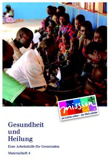 Dr. Gisela Schneider - Deutsches Institut für Ärztliche Mission eV